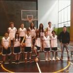 2012-13. Maristas infantil mixto campeón liga