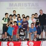 2014-15. Maristas mini 6º Fiesta en Fever