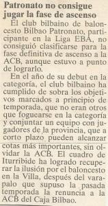 19950607 Periodico Bilbao
