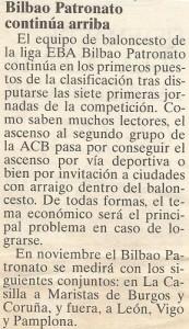 19951119 Peridico Bilbao