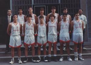 1994-95. PATRO Maristas cadete campeón liga vasca