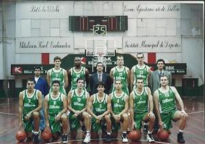 1996-97 BILBAO PATRONATO liga LEB .
