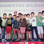 2015-16 Maristas Preinfantil Campeón