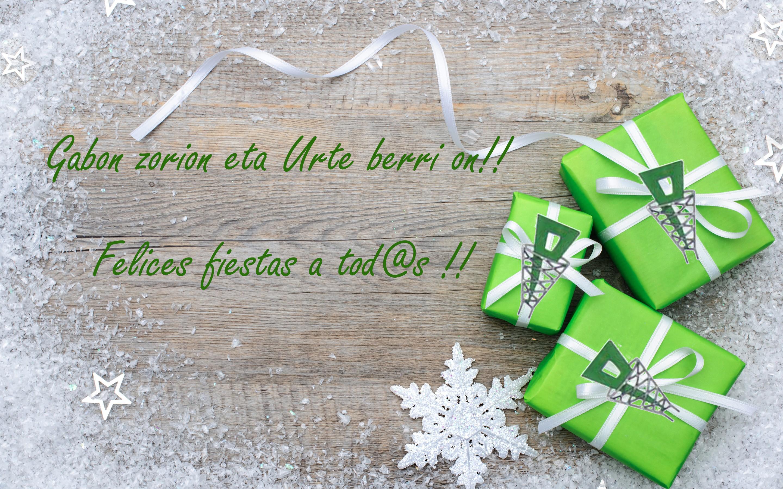tarjeta navidad patro