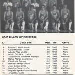 1984-85 Cto. España Caja Bilbao junior