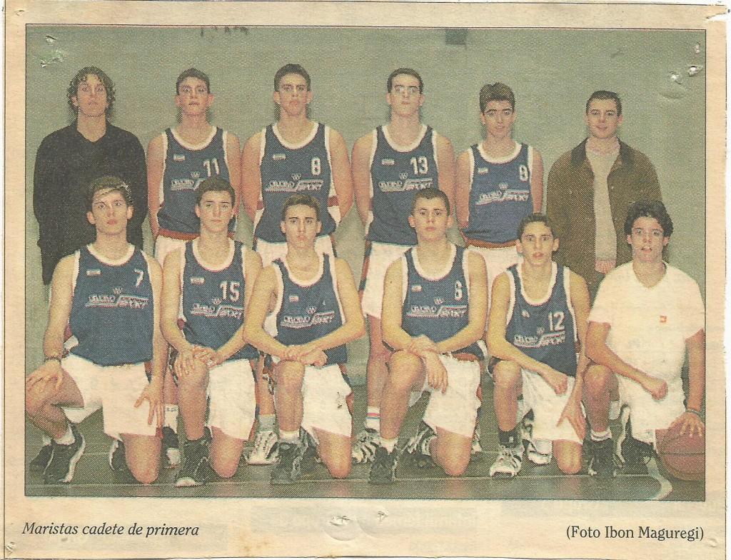 1998-99.-PATRO-Maristas-Cd-1ª-19990121-Deia