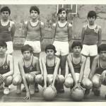1973-74 Maristas alevin A SUBCAMPEÓN LIGA