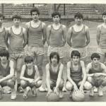 1974-75 Maristas infantil subcampeón liga y copa