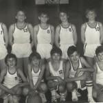 1975-76 Maristas alevín subcampeón liga y copa