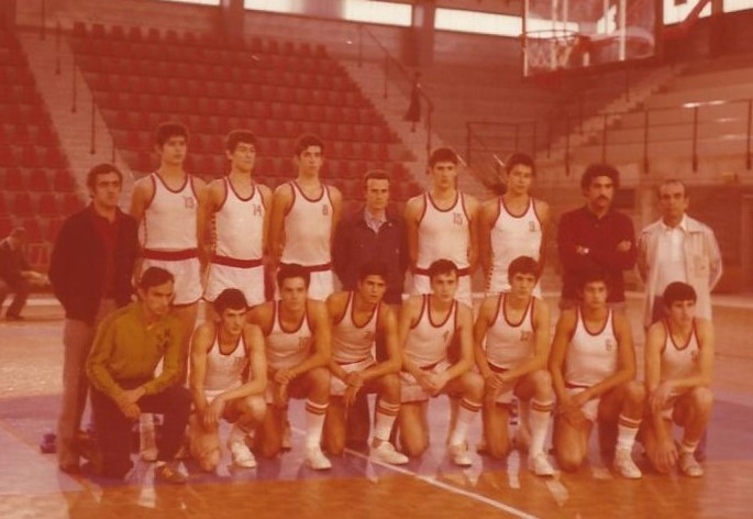 1977 selc. Española juvenil Cto Europa Berck