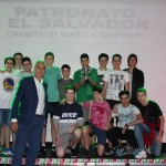 2017-18 Patronato El salvador Campeón cad. 1ª