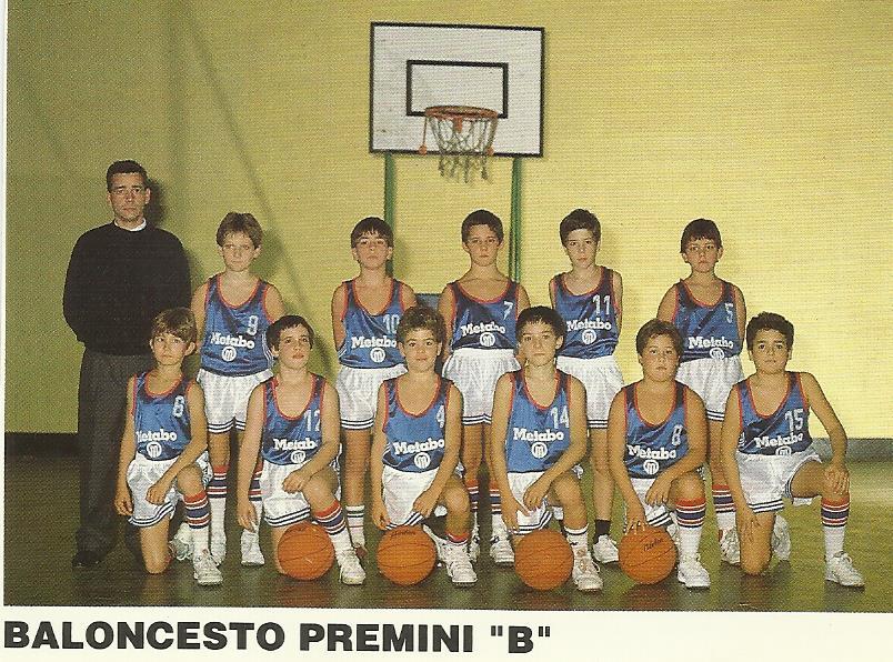 89-90 1º equipo en el que jugó MARISTAS premini ( siendo un año menor)