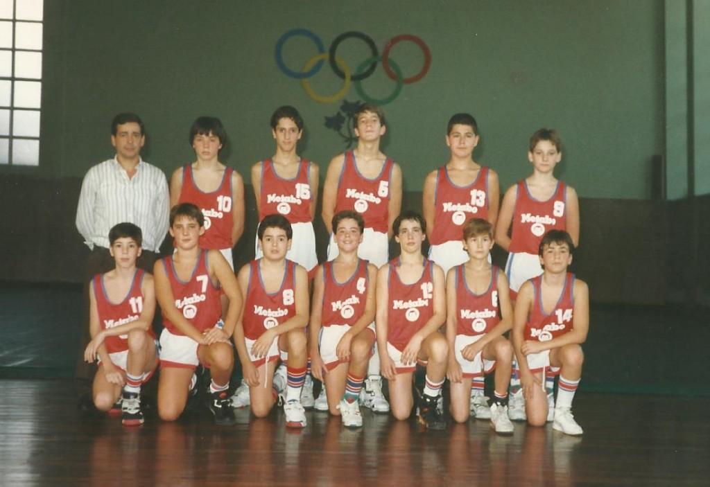 92-93 El salvador infantil subcampeón Bizkaia