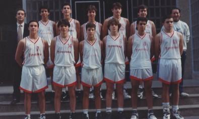 94-95 Patronato Maristas CD 1º liga vasca ( siendo de 1º año Javi salgado nº 14)