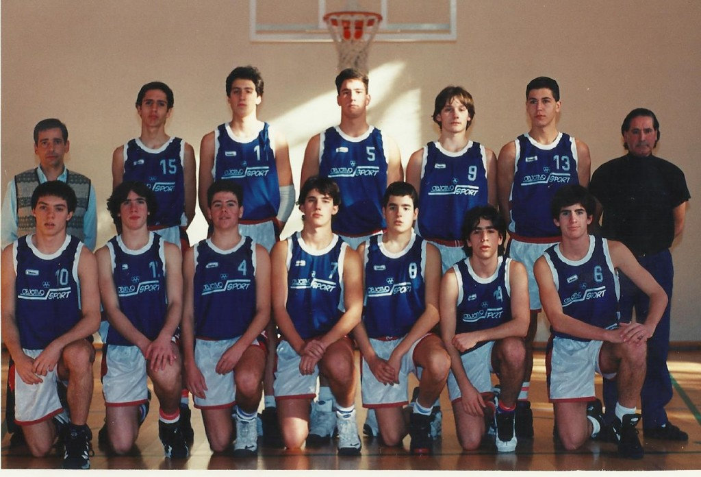 95-96 PATRO Maristas CD 1º liga, liga vasca, sector, copa