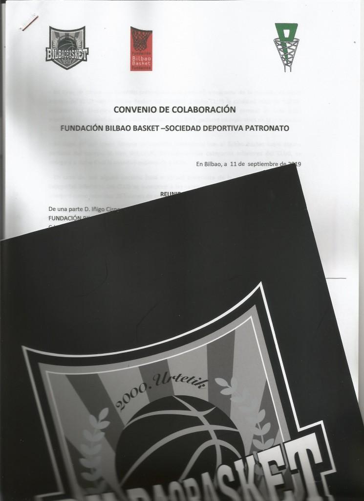 acuerdo con Bilbao Basket19-20