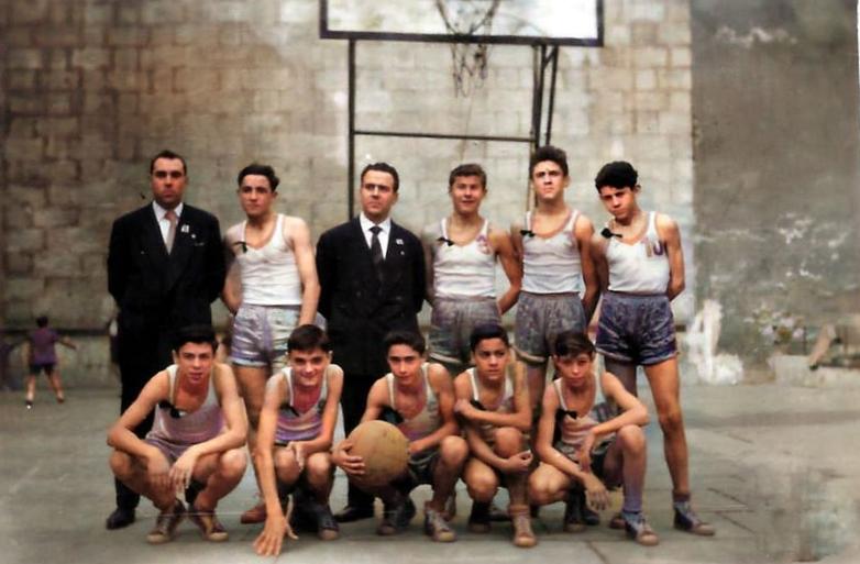 Patronato infantil 1958-59