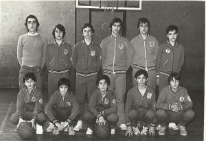 1976-77 Maristas INF Ituiño