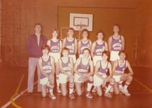 1981-82 Maristas El SalvadorINF. Ituiño
