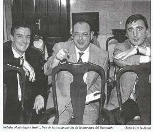 1997 06 10 Deia. REBATO, MADARIAGA, ITUIÑO