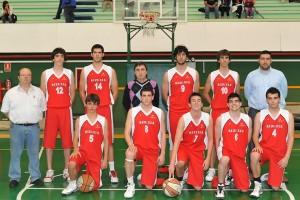2010 selección Bizkaia sub21 Jesus Ituiño